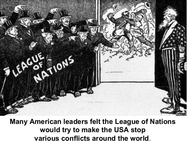 Wilson Refuses to Give Up -Wilson ignored the Republicans who stood against the League of Nations and urged the nation to ...