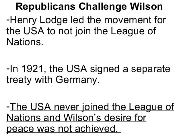 """The Impact of WW I on the World -Many in the USA wanted """"normalcy"""" and not to be involved in European affairs. The USA gov..."""
