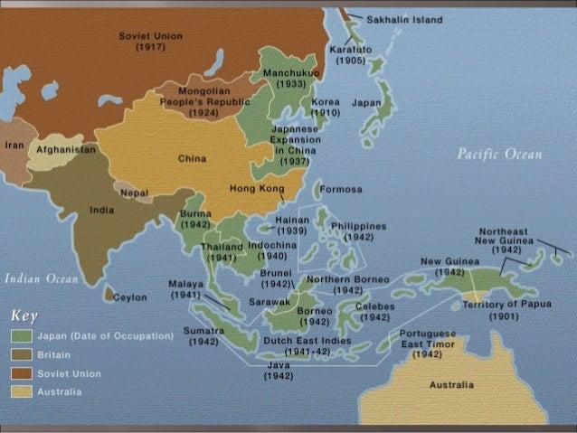 Map Japan World War 2. The Holocaust  73 World war ii
