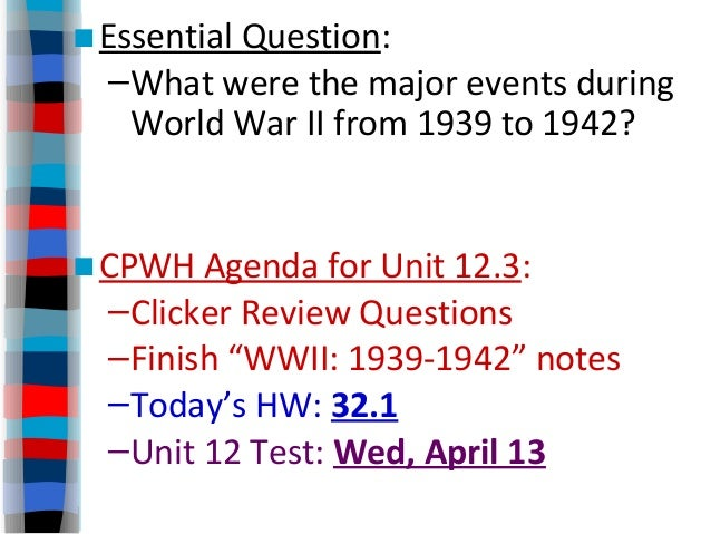 the three major axis powers and the european allies during world war ii and the major events that ha World war ii was fought between two major now the three main axis powers were allies in the war at their peak during world war ii, the axis powers.