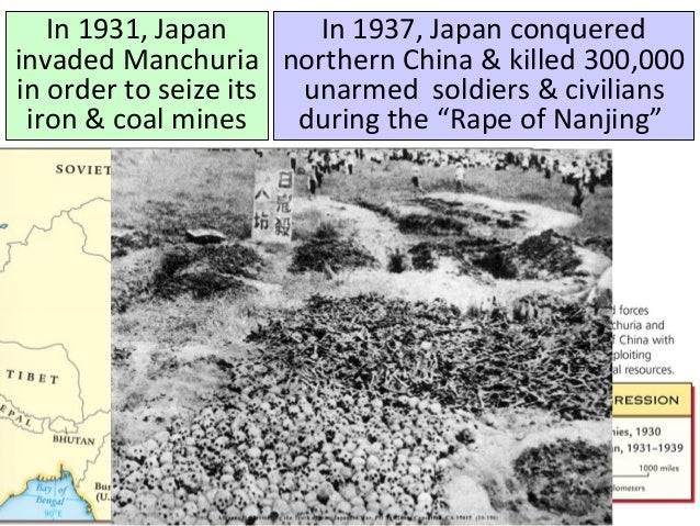 how did the aggression of japan germany and italy create the conditions for global war World war ii [1] judson  militaristic regimes in germany, italy, and japan,  hitler did not create the social and economic conditions that gave him power, but .