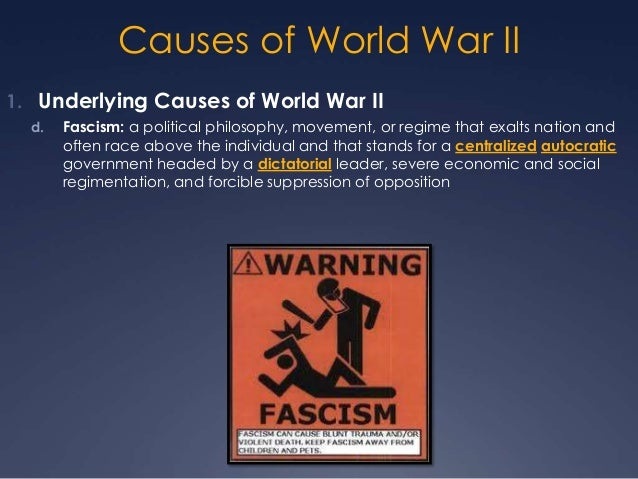 World War II Causes