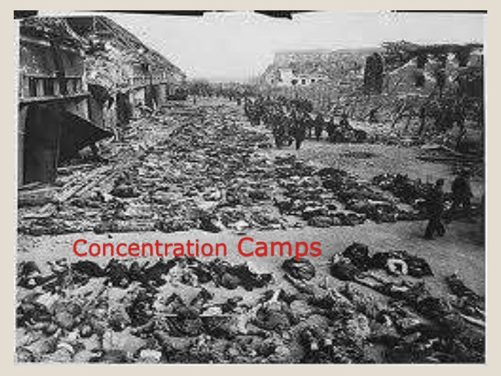 World war ii concentration camps