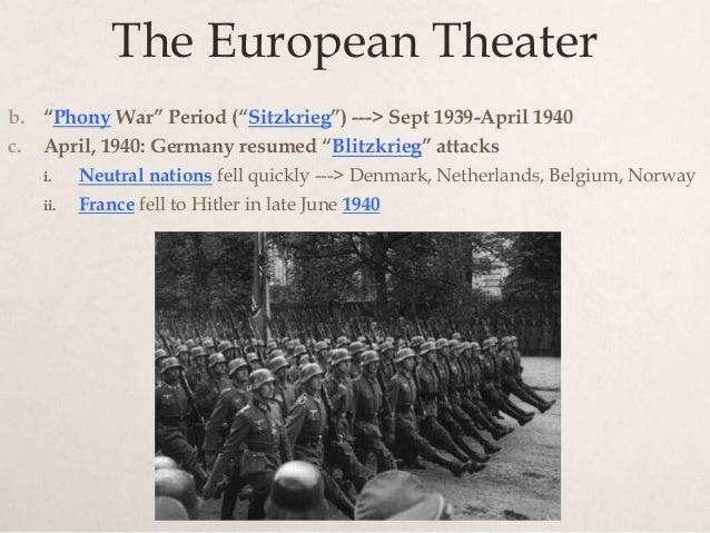 european theater  wwii