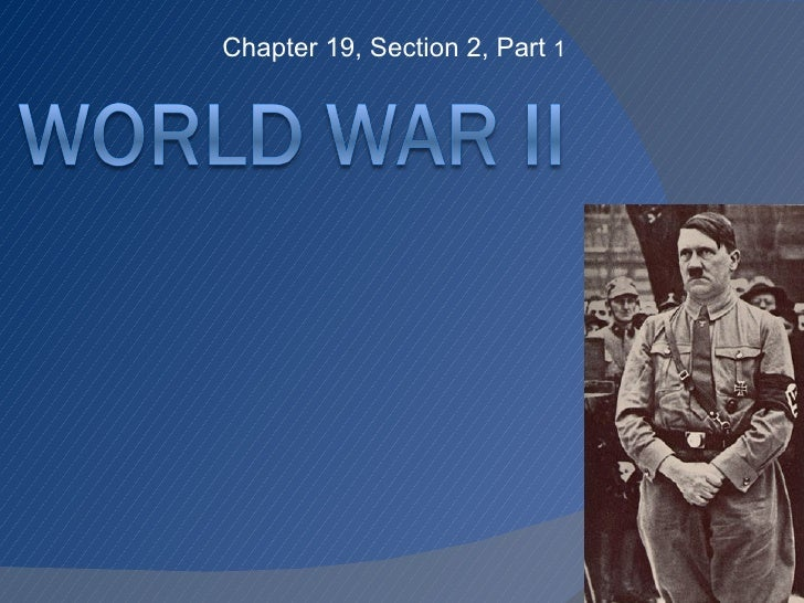 Chapter 19, Section 2, Part  1