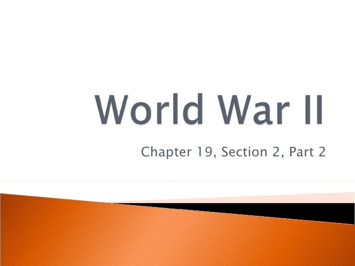 Chapter 19, Section 2, Part 2
