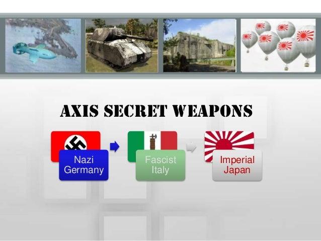 World war II Secret Weapons