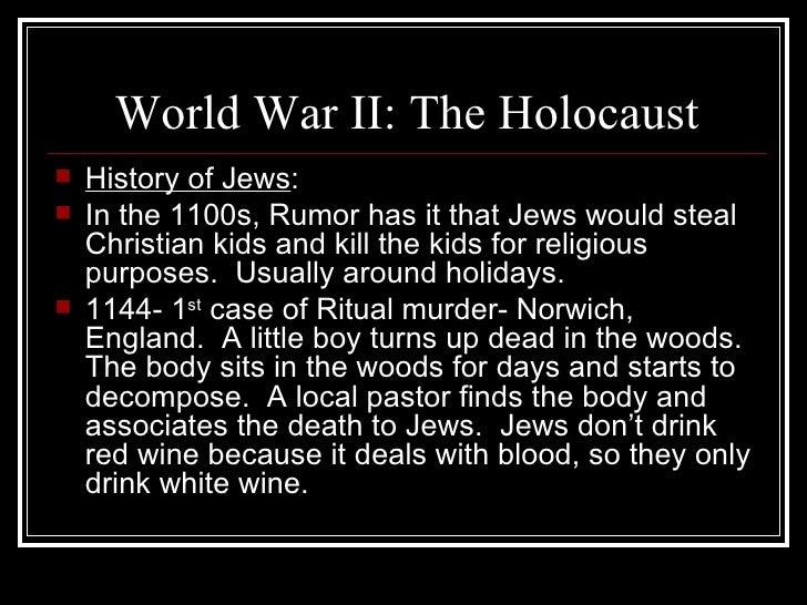 World War II The Holocaust 2