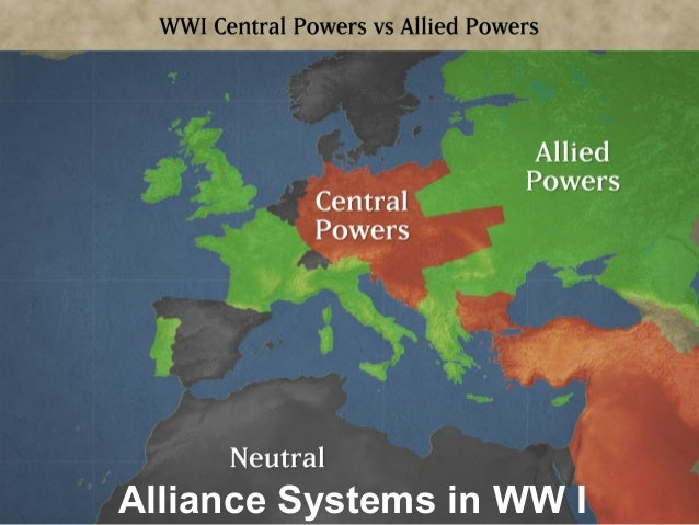 On the Verge of World War -The Balkan Peninsula became a disputed area. Russia and Austria wanted to control the Serbs and...