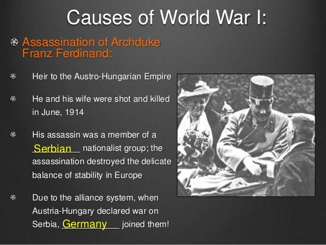 World war i presentation 2015 a c