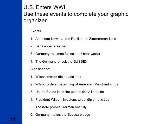 4 reasons why the us entered ww1