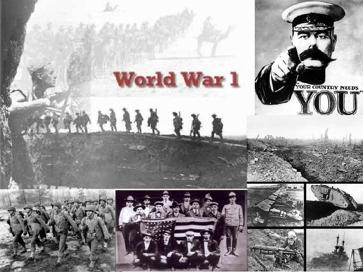 World war one images powerpoint