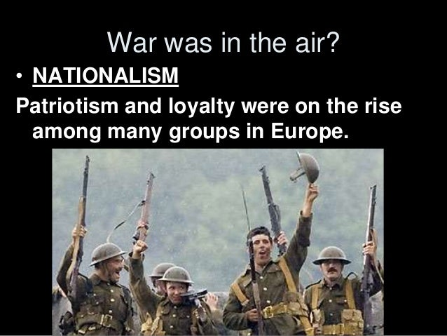 the balkan nationalism to be blamed for the outbreak of the war Balkan nationalism only holds a share of the responsibility for the causes of war, but the extent to which it is responsible for the outbreak of war goes much further balkan nationalism is not all to blame, however.