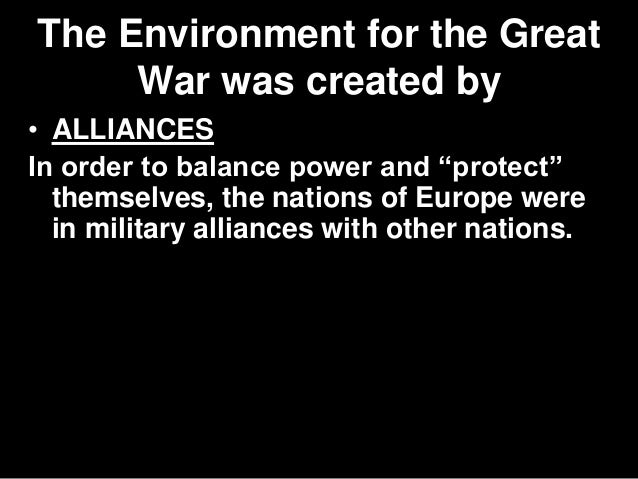 World Wars Compared - Causes Slide 3