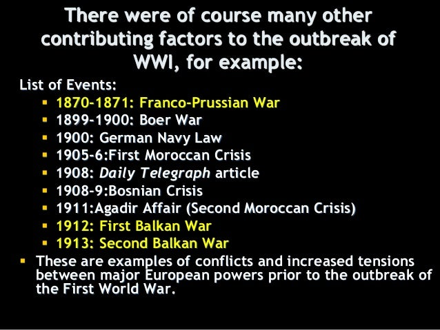 the balkan nationalism to be blamed for the outbreak of the war Historians tend to blame nationalism for the european ills which led to the outbreak of the great war in 1914 they are able to cite many examples of german.