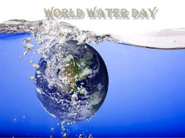 World Water day is a day for people to show support and appreciate the fresh water (Non salty water) which is only 1% of ...
