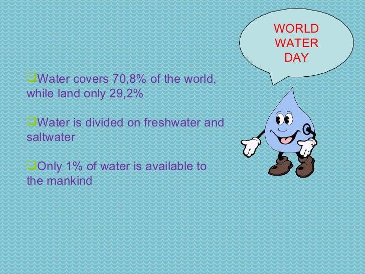 world water day ppt world water day 4 world