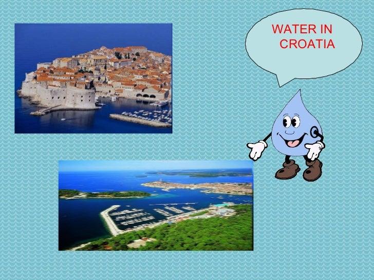 WATER IN  CROATIA