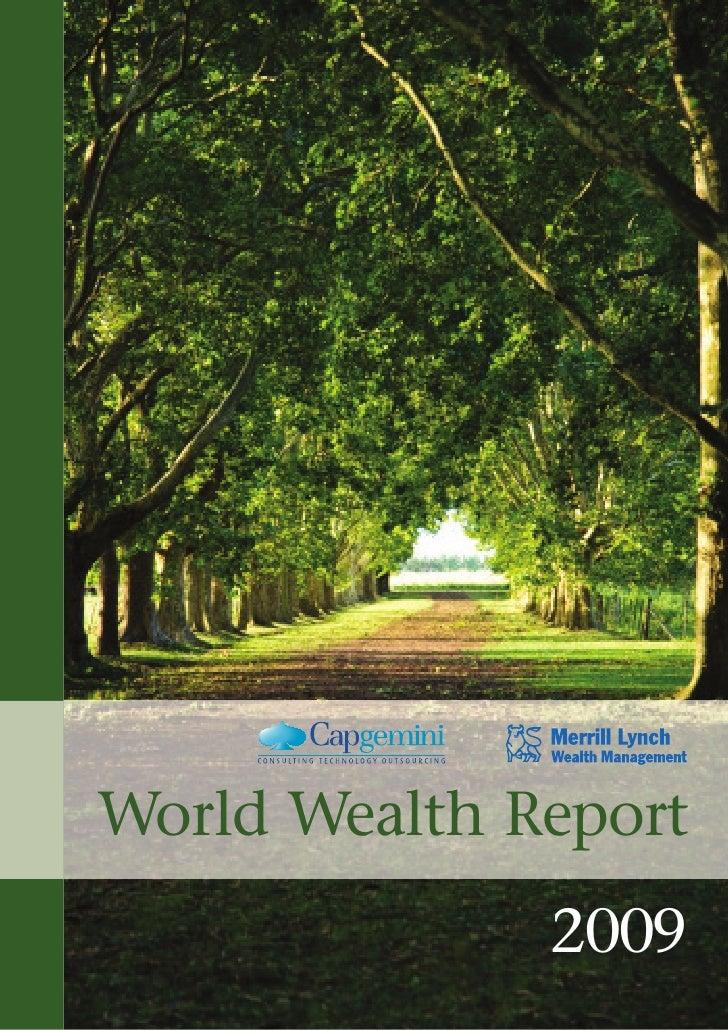 World Wealth Report              2009