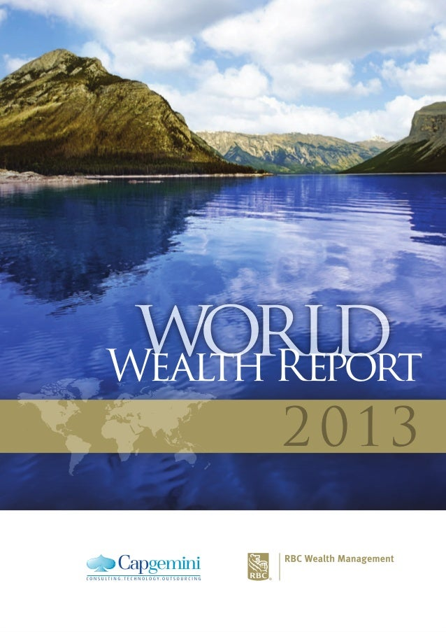 world Wealth Report 2 013