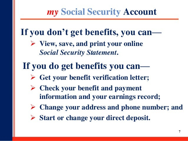 Worldwide BenefitsSocial Security Planning Your Retirement