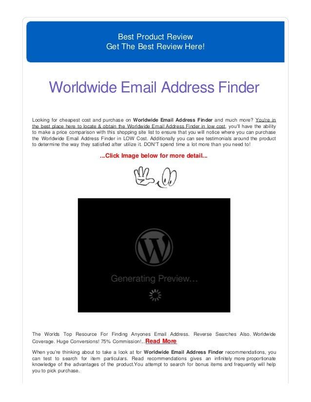 reverse e mail address finder