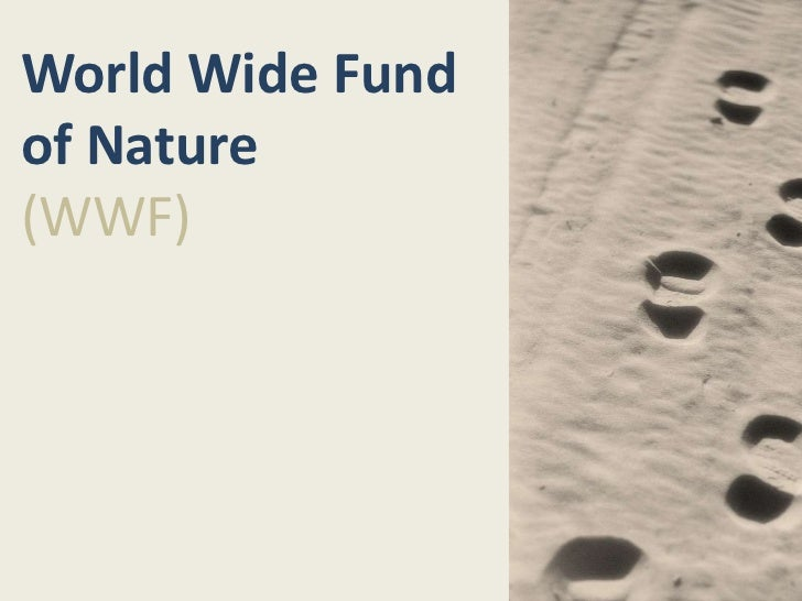 World Wide Fundof Nature(WWF)
