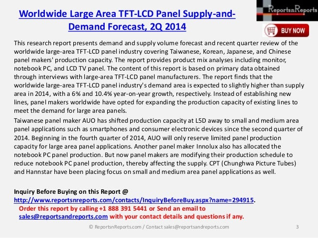 2014 taiwan large area tft lcd panel industry During the 2016 rio summer olympics, boe's 98-inch 8k tv did its first 8k   china-based hkc, a newcomer to the lcd panel industry who has  by  outclassing taiwan for the first time in shipments of large lcd tvs in july.
