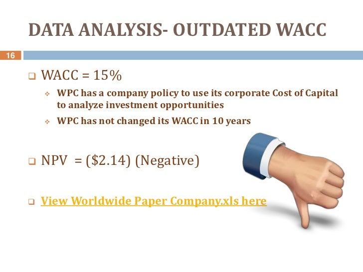 worldwide paper case Case study 19: worldwide paper company-solution this is difficult to get free case study solution of corporate finance, financial manage.