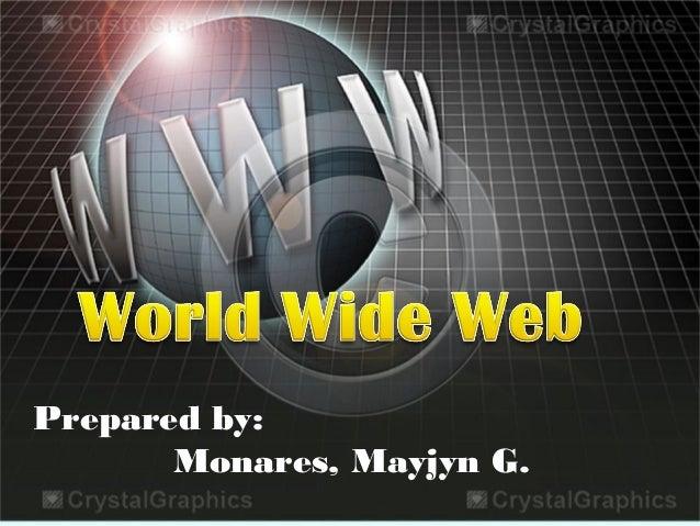 Prepared by: Monares, Mayjyn G.