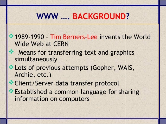 the world wide web analysis Doi: 101057/97811374137580001 forensic authorship analysis and the world wide web samuel larner university of central lancashire, uk.