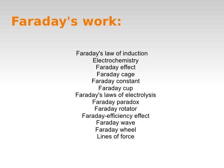 World without faraday