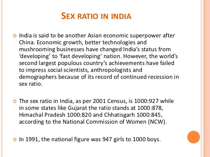 List of countries by sex ratio