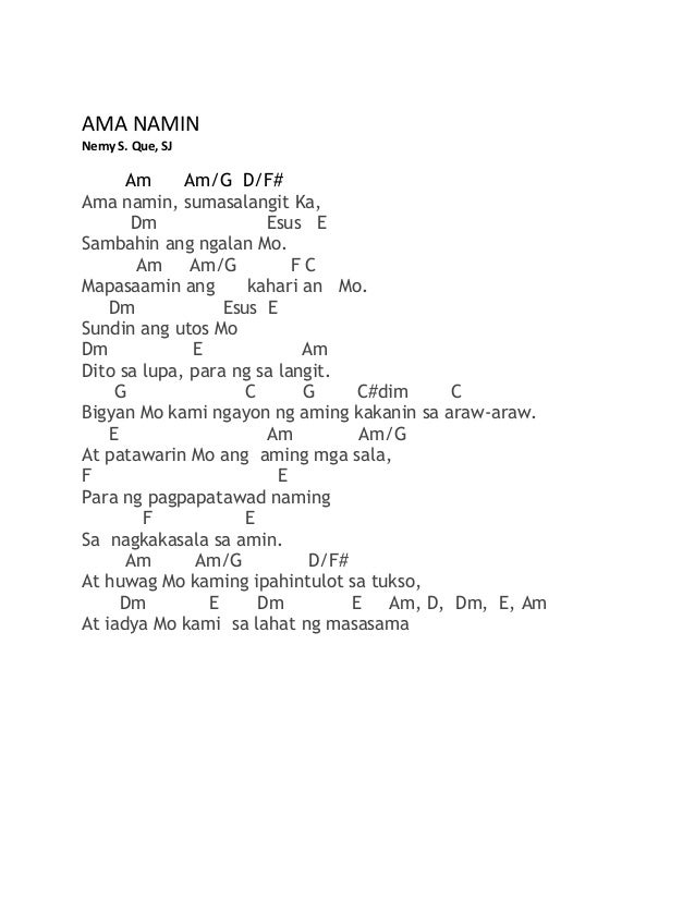 Tagalog Songbook With Chords Pdf 27
