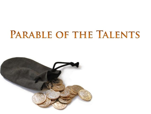 Image result for the parable of the talent image