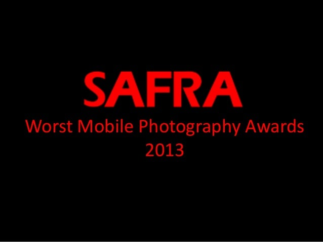 Worst Mobile Photography Awards 2013