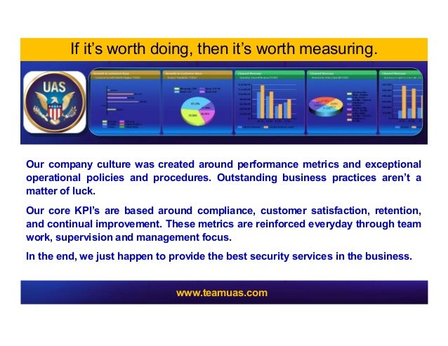Our company culture was created around performance metrics and exceptionaloperational policies and procedures. Outstanding...
