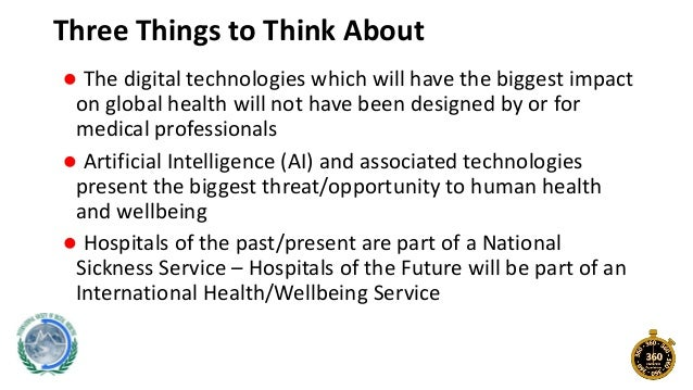 Digital Health Applications and Hospitals of the Future Slide 2