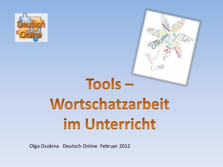 Olga Osokina Deutsch Online Februar 2012