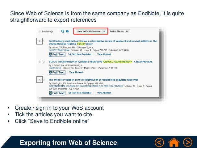 Exporting references web of science knowledge base cite 6 ccuart Images