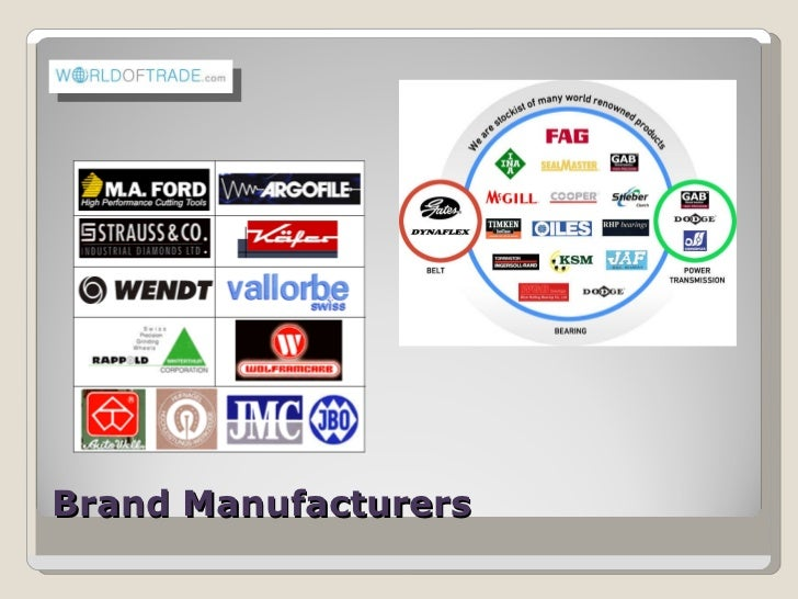 Brand Manufacturers