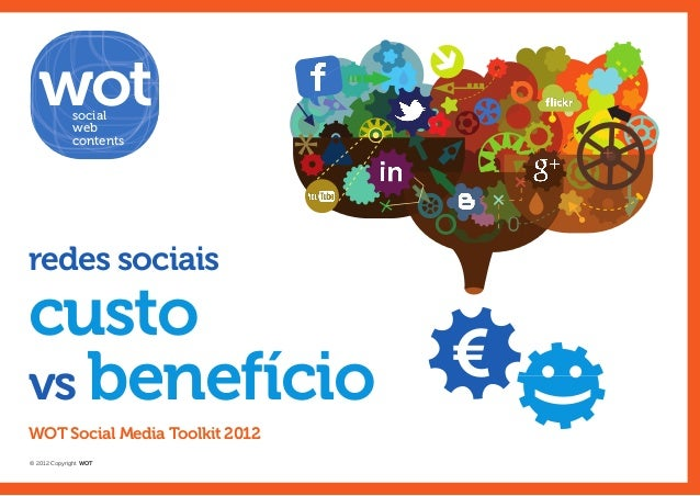 social             web             contentsredes sociaiscustovs benefício                    €WOT Social Media Toolkit 201...