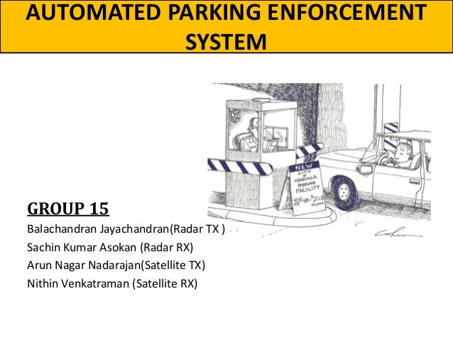 Automated Parking Enforcement Systems