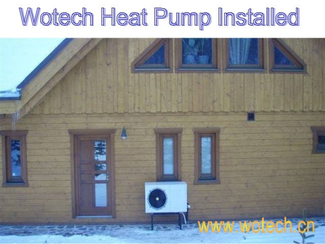 The shell is against UV and corrosion. With reversible defrosting, the heat pumps can work normally even in chilling winte...