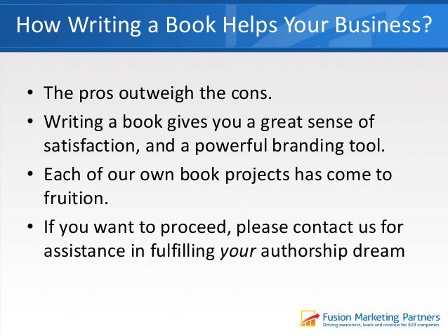 Help on writing a book