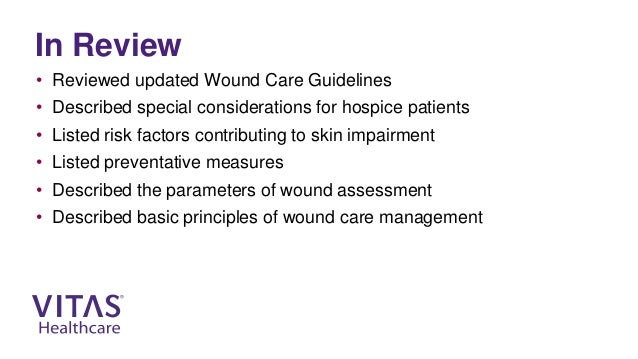 Wound Care 101