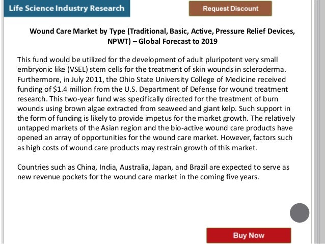 advanced wound care market by wound type pdf