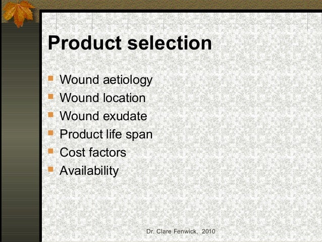 Wound Products