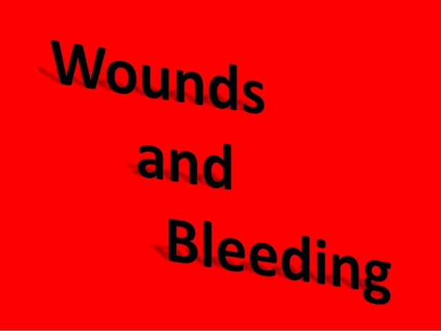 how to stop a wound from bleeding