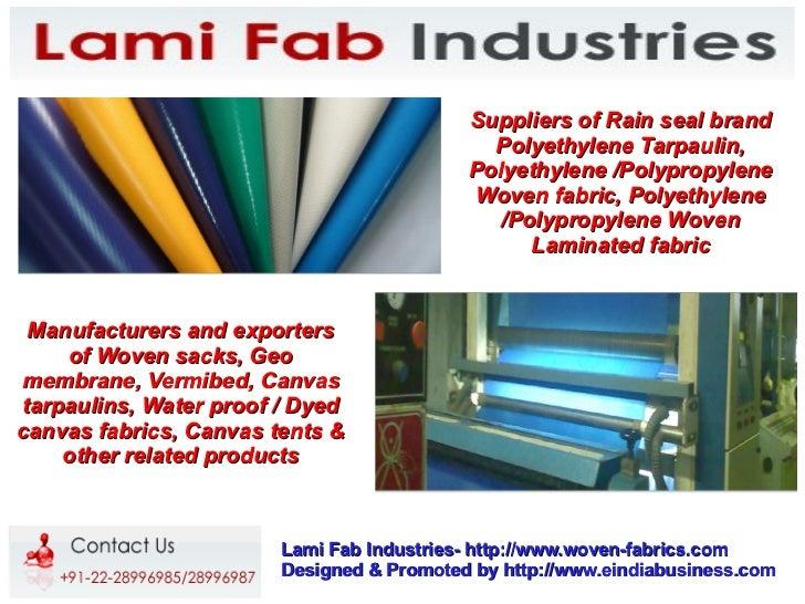 Suppliers of Rain seal brand                                             Polyethylene Tarpaulin,                          ...